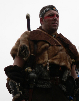 Barbarian with Furs