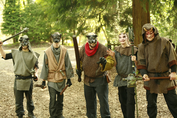 strange larp beasts bar the path
