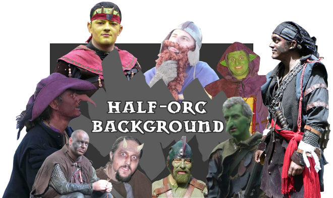 Half-Orc LARP Characters